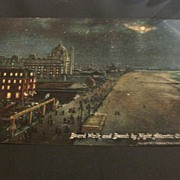 Vintage Postcard copyright 1907  Atlantic City NJ.