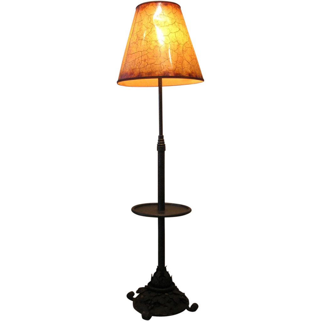 1920 39 s french wrought iron hammered hand forged floor lamp for 1920s floor lamps