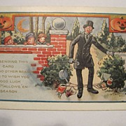Vintage Halloween Postcard by Whitney Made