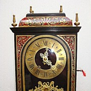 SOLD A French period C1860 Religious Boulle Clock
