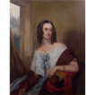 19th Century British School Portrait of a Lady Oil on Canvas