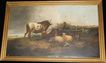 19th Century English Bovine Painting