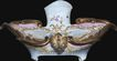 19th Century French Meissen Porcelain Inkwell