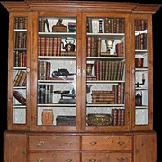 18th Century English Pine Bookcase
