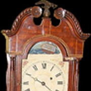 American Mahogany Granddaughter Clock