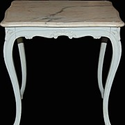 French Painted Occasional Table