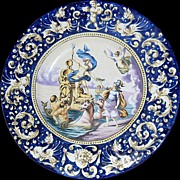19th Century French Faience Charger