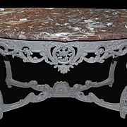 Painted French Console