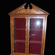 Mid-19th Century Dutch Vitrine