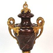 Exceptional French Marble Urn