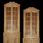 Pair of French Corner Cabinets