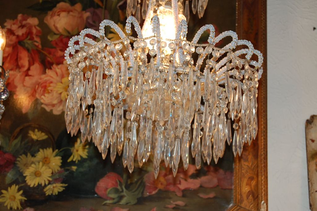 "Beaded Crystal Chandeliers, ""Victoria"" - Beaded Curtains, Door"