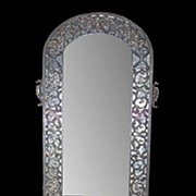 SALE Oscar Bach Art Deco Mirror & Console Set