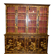 19th Century Chinoiserie Breakfront