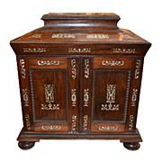 Portuguese Rosewood Diminutive Cabinet