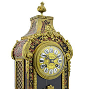 19th Century French Boulle & Bronze Clock