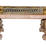 Italian Giltwood Coffee Table