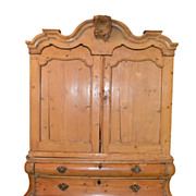 18th Century Dutch Pine Hutch