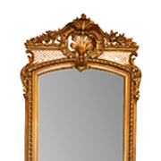 Tall Giltwood Mirror