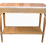 Italian Painted Console