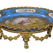 French Bronze Mounted Sevres Centerpiece