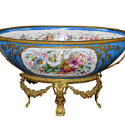 French Sevres Centerpiece