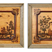 Pair Italian Povera Panels