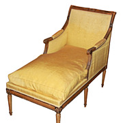 French Directoire Chaise Lounge