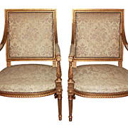 Pair Louis XVI Chairs