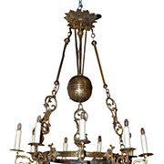 Continental Brass Lantern