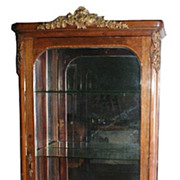French Bronze Mounted Vitrine