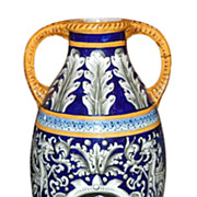 Large Italian Faience Jar