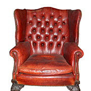 Leather English Office Chair