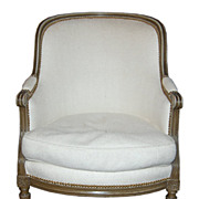 19th Century Louis XVI Bergere