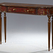 Decorative Chinoiserie Console