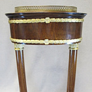 French Empire Rosewood Planter