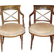 Pair Antique Italian Chairs