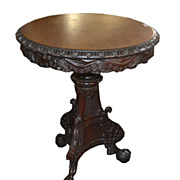 Continental Carved Side Table