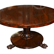 Regence Rosewood Breakfast Table