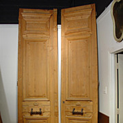 Tall Haussmanien Style Doors-1800�s France