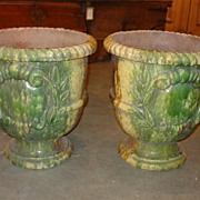 Anduze Style Urns from Provence, France