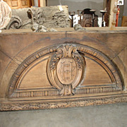 Antique Overdoor from Lyon, France