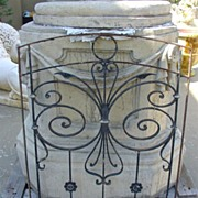AntiqueFrench Balcony Gate