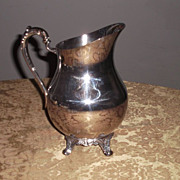 Vintage Silver Plated Water Pitcher F.B.Rogers Co.