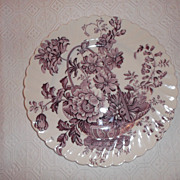 Charlotte by Clarice Cliff Royal Staffordshire Dinner Plate