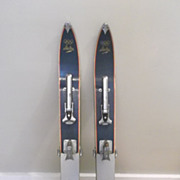 Vintage  Electra Children's Skis! 1950's! Made in Japan