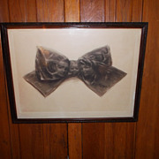 Anthropomorphic/ Optical Illusion Victorian Era Print by John de Yongh~ The Tie That Binds