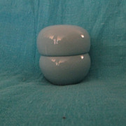 Russel Wright Iroquois Casual Ice Blue Stacking Salt & Pepper Shaker Set