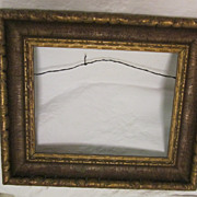 "Quality Gesso over Wood Gilded Frame~ Gorgeous! 19"" x 16""  Vintage"