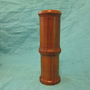 Mid-Century Modern Teak Pepsal Pepper Mill MIB 6&quot;